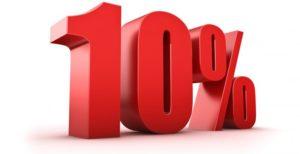 10% ожоги тела