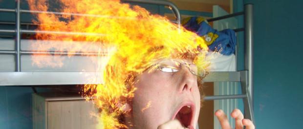 Последствия ожога кипятком головы